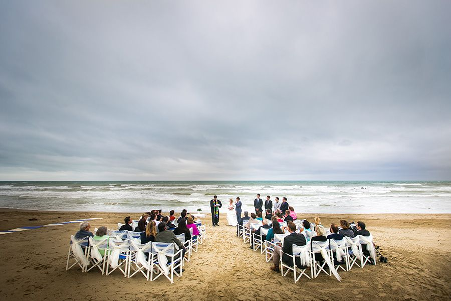 wedding in the beach