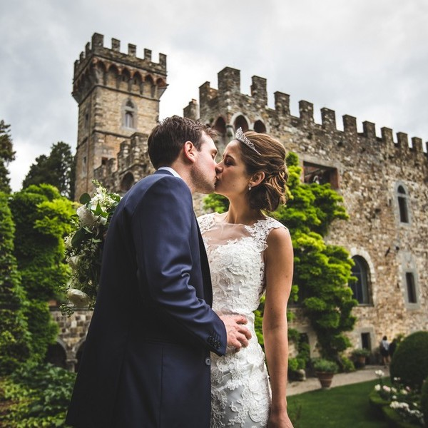 Melissa e Adrien - wedding in tuscany castle