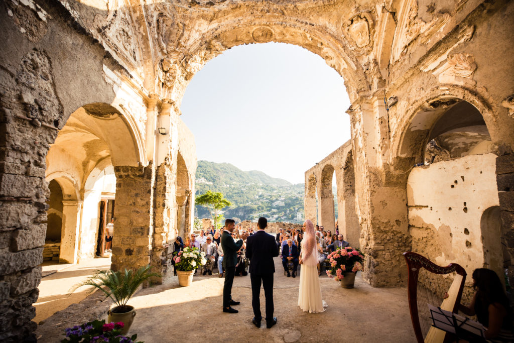 ceremony in aragonese castle