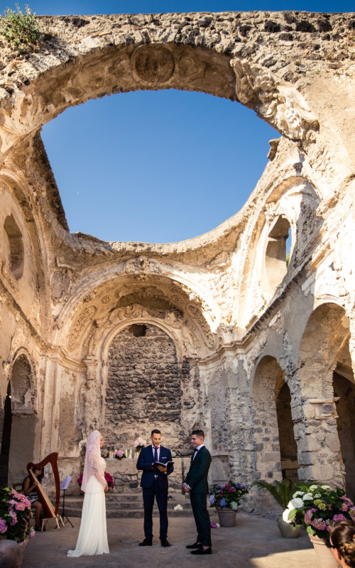 Wedding in Aragonese Castle - eric & Jessie