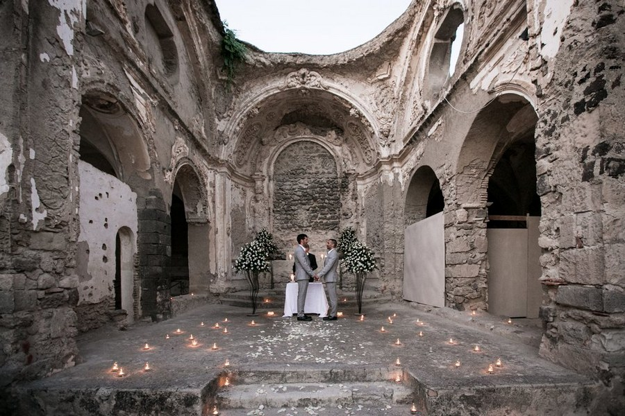 wedding photographer aragonese castle