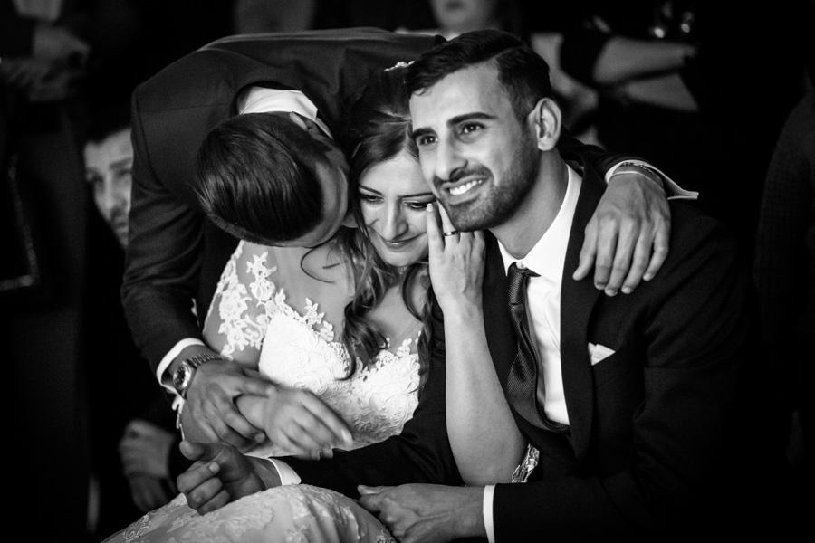 emozioni in un matrimonio