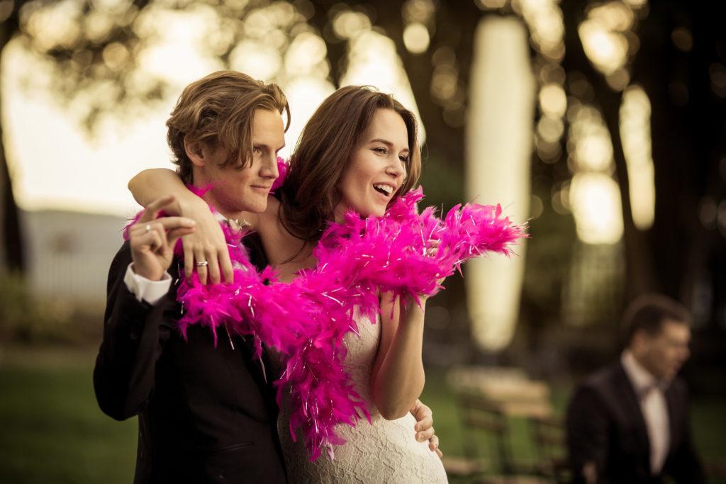coppia sposi belli
