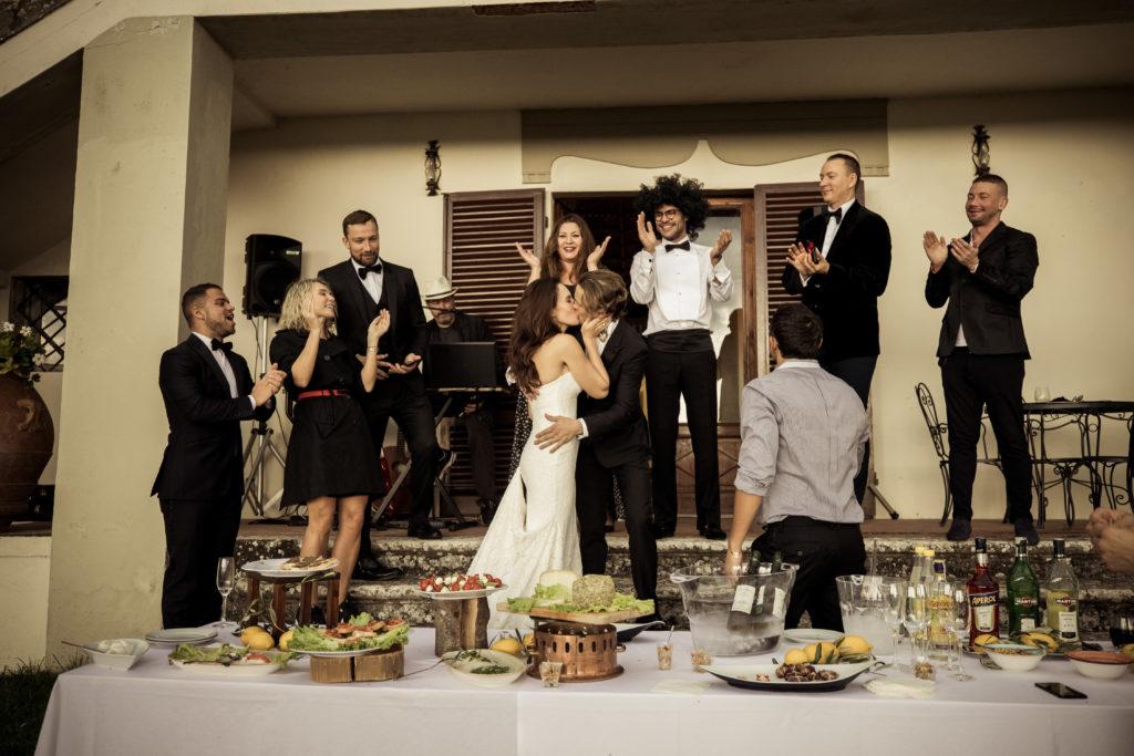 feata di matrimonio a villa vistarenni
